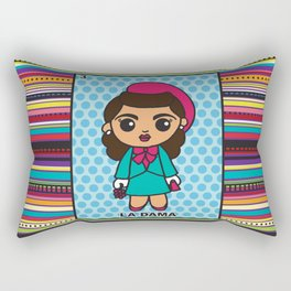 La Dama Rectangular Pillow