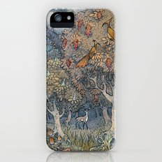 Small secrets of the forest iPhone SE Slim Case