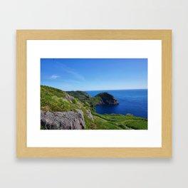 Blue Cove Framed Art Print
