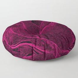 Gothic Rose in Cerise Floor Pillow