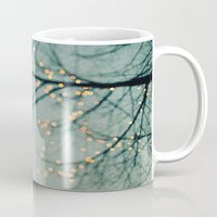 the lights Mugs featuring Lights  by Laura Ruth