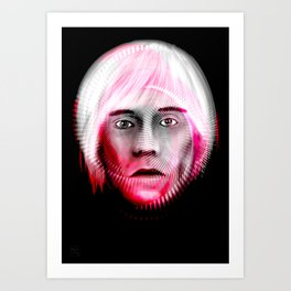 Andy Spiral   Art Print