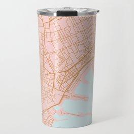 Napoli map Italy Travel Mug