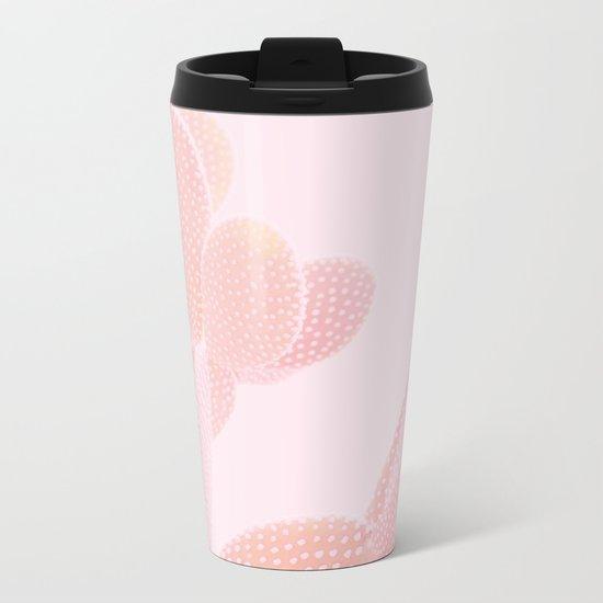 Opuntia Blush Metal Travel Mug