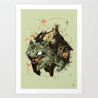 Bulbsaur Art Print