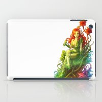 poison ivy iPad Cases featuring Poison Ivy by aken
