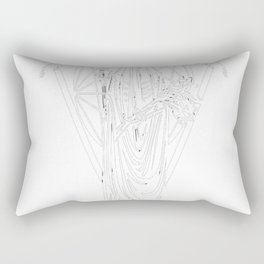 The Withering Crone Rectangular Pillow