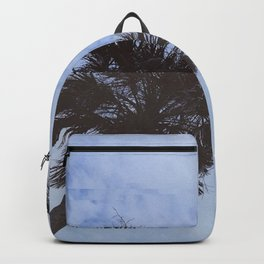 palm trees but distorted Backpack
