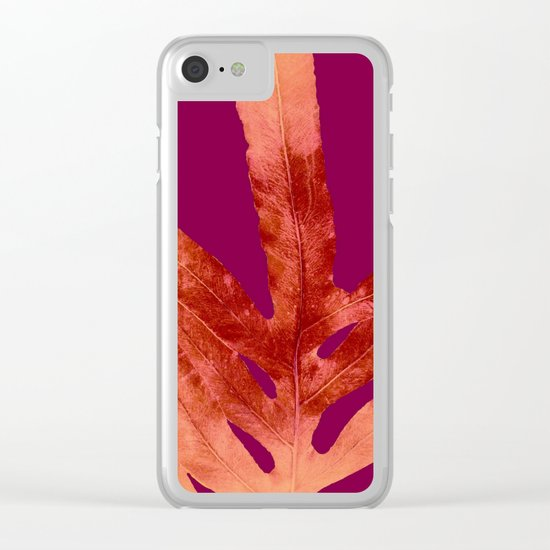 Red Wine Winter Nights, Romance Clear iPhone Case