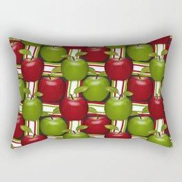 Apples Composition Rectangular Pillow
