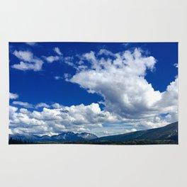 Sky and Mountain Rug