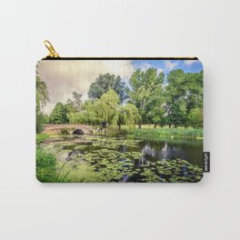 Lily Pond of England Carry-All Pouch