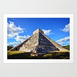 Chichen Itza (Mexico) Art Print
