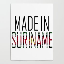 Made In Suriname Poster