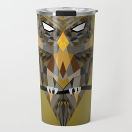 Diffracted Owl Travel Mug