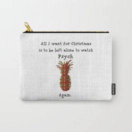 Xmas gift for Psych-os! Carry-All Pouch