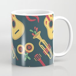 Mexican Instrument Set Musician Lover Music Gift Coffee Mug