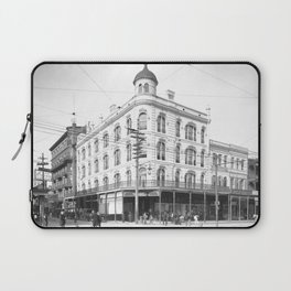 Chess, Checker, and Whist Club, New Orleans 1903 Laptop Sleeve
