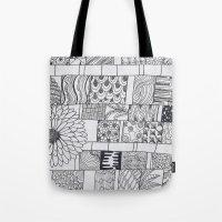 calendar Tote Bags featuring Bloom Calendar by sinonelineman