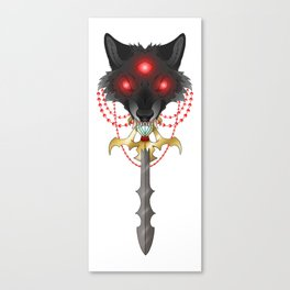 Sword Eater Canvas Print