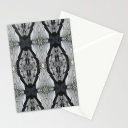 Duck Feather Pattern Stationery Cards