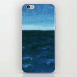 Night sea iPhone Skin