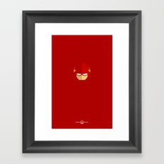 Flash Framed Art Print