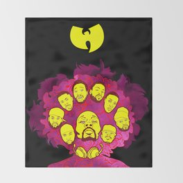 Wu-Tang Purple Haze Throw Blanket