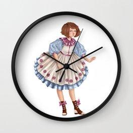 Candy Girl Wall Clock