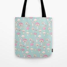 Mushrooms and Toadstools Tote Bag