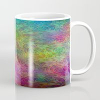 christ Mugs featuring Christ by RingWaveArt