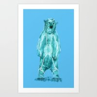 tron Art Prints featuring Tron by Sarinya  Withaya