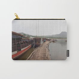 Long Boat of Laos Carry-All Pouch