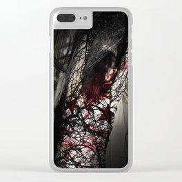 Raise Me Clear iPhone Case