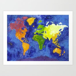 The World Art Print