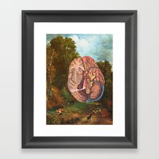 Brainscape Framed Art Print