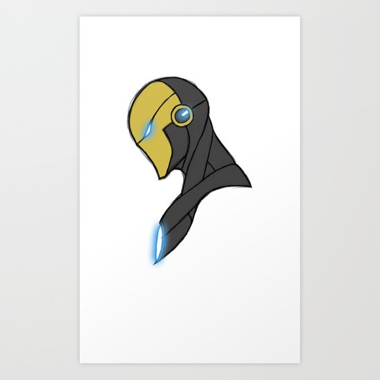 Iron-Man Next Art Print