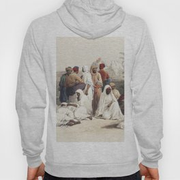 In the slave market at Cairo  by David Roberts (1796-1864) Hoody