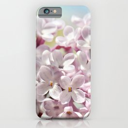 Lilac pink 300 iPhone Case