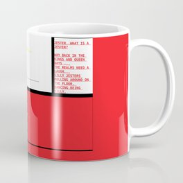 JOKER, JESTER, WHO ARE YOU? Coffee Mug