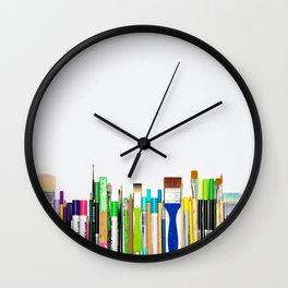 Real Weapons Of Mass Creation II Wall Clock