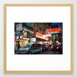 Hong Kong Neons Framed Art Print