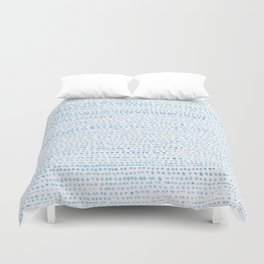 BLUE/GREEN DOTTED PATTERN  Duvet Cover