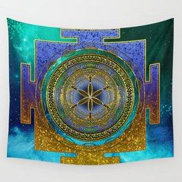 Yantra Mantra Mandala #1 Wall Tapestry
