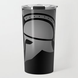Ancient Greek Spartan Helmet Travel Mug