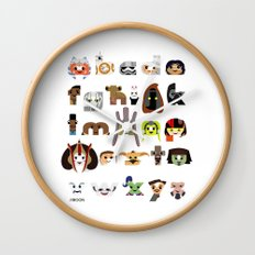 ABC3PO Episode II Wall Clock