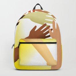 Diverse Hands Backpack