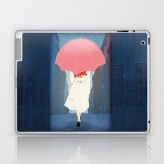She Went Walking In The Rain Laptop & iPad Skin