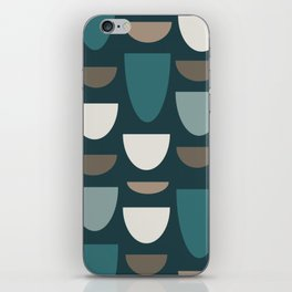Turquoise Bowls iPhone Skin