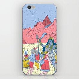 Kali dance iPhone Skin